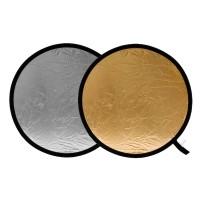 Blenda okrągła Lastolite srebrno-złota 50 cm LL LR2034