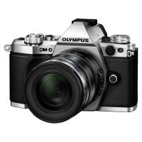 Olympus OM-D E-M5 II srebrny + obiektyw 12-50mm 1:3.5-6.3 EZ