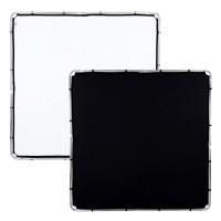 Ekran Black/ White do systemu Lastolite Skylite 2 x 2 m LR82221R