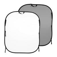 Tło składane Białe/ Szare 1,5 x 1,8m Lastolite LL LB56GW