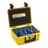 Walizka transportowa B&W outdoor.cases Typ 3000 żółta do DJI Spark
