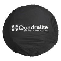 Blenda owalna 5w1 Quadralite 95x125 cm - WYSYŁKA W 24H