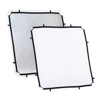 Ekran Silver/ White do systemu Lastolite Skylite 1.1 x 1.1 m LR81131R
