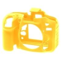 Osłona silikonowa easyCover do aparatów Nikon D7100/ D7200 żółta
