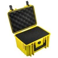 Walizka transportowa B&W outdoor.cases Typ 2000 SI z gąbką Żółta