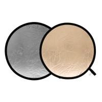 Blenda okrągła Lastolite słoneczno-srebrna 50 cm LL LR2036