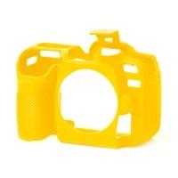 Osłona silikonowa easyCover do aparatów Nikon D7500 żółta