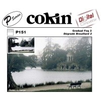 Filtr Cokin P151 - Filtr połówkowy z efektem mgły