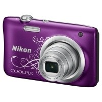 Aparat cyfrowy Nikon Coolpix A100 fioletowy z ornamentem