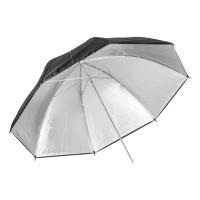 Parasolka srebrna Quantuum 150 cm - WYSYŁKA W 24H