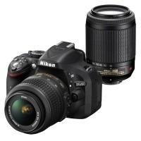 Nikon D5200  + obiektyw 18-55mm VR + obiektyw 55-200mm VR - miniaturka produktu