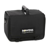 Zestaw Large TravelPak II + torba, 2 przewody, ładowarka - Bowens BW7698