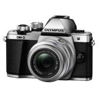 Olympus OM-D E-M10 Mark II srebrny + obiektyw 14-42 mm II R