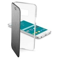 Etui Cellular Line CLEAR BOOK czarne do Samsung Galaxy S6