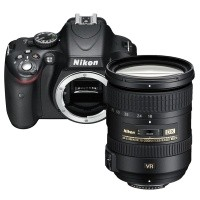 Nikon D5100 + obiektyw Nikkor AF-S 18-200mm VR II - miniaturka produktu