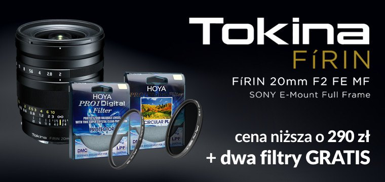 Letnia promocja Tokina FÍRIN