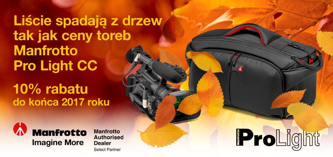 Jesienna promocja Manfrotto