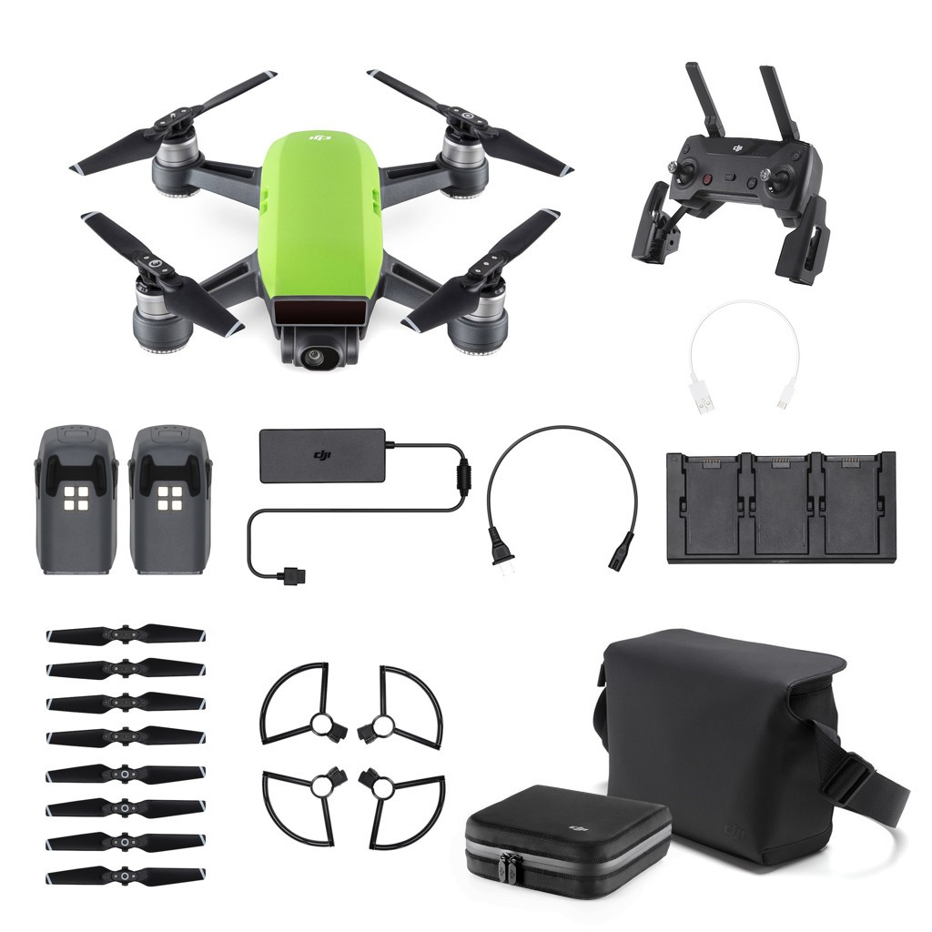 Dron DJI Spark Fly More Combo Meadow Green