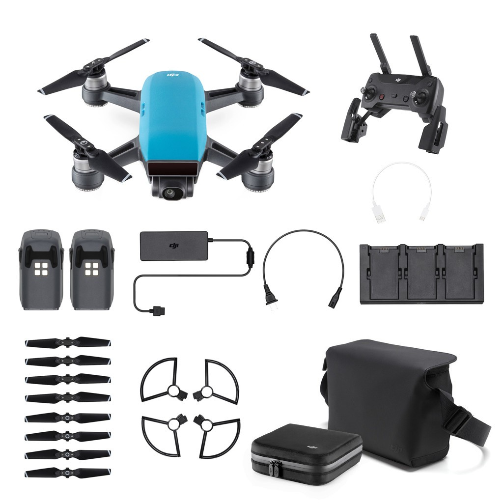 Dron DJI Spark Fly More Combo Sky Blue