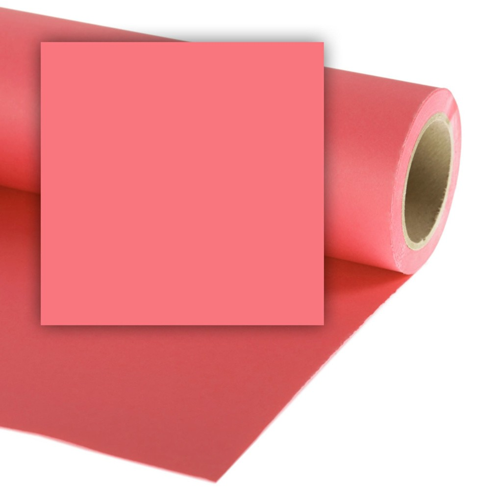 Colorama CO146 Coral Pink - tło fotograficzne 2,7m x 11m CO146