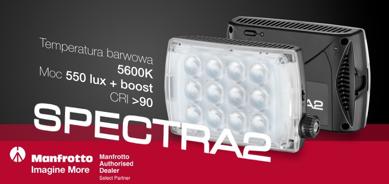 Lampa LED Manfrotto SPECTRA2