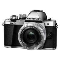 Olympus OM-D E-M10 Mark II srebrny + obiektyw 14-42 mm EZ