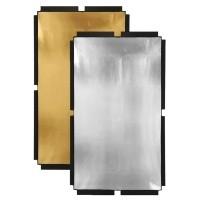 Materiał złoty/srebrny do panelu Fomex Peri Bounce PFR1120