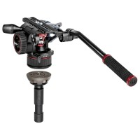 Głowica Manfrotto Nitrotech MVHN12AH Fluid Video + półkula 520BALL