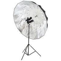 Parasolka fotograficzna srebrna refleksyjna Lastolite LL LU7908F Mega Umbrella