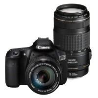 Canon EOS 60D + obiektyw 17-85mm IS + obiektyw 70-300mm IS