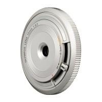 Obiektyw Olympus Body Cap Lens 15 mm f/8.0 srebrny (BCL-1580)