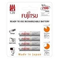 Akumulatorki Fujitsu WHITE R03/AAA 750mAh 4szt - WYSYŁKA W 24H