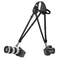 Pasek reporterski na dwa aparaty BlackRapid HYBRID Breathe