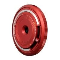 Obiektyw Olympus Body Cap Lens 15 mm f/8.0 czerwony (BCL-1580)