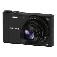 Aparat cyfrowy Sony Cyber-Shot DSC-WX350 Czarny