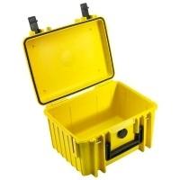 Walizka transportowa B&W outdoor.cases Typ 2000 bez wypełnienia Żółta