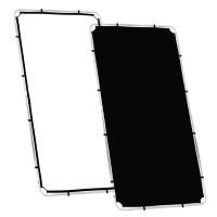 Ekran Black/ White do systemu Lastolite Skylite 1,1m x 2m LR81221R