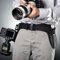 Podwójny pas reporterski SpiderPro Dual Camera System
