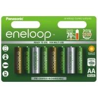 Akumulatorki Panasonic ENELOOP BOTANIC R6/AA 1900mAh - 8szt - WYSYŁKA W 24H