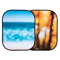 Tło składane Lastolite Out of Focus Autumn Foliage/ Seascape LL LB5731