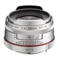 Obiektyw Pentax HD DA 15mm f/4 Limited Srebrny