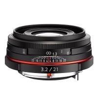 Obiektyw Pentax HD DA 21mm f/3,2 Limited Czarny