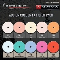 Zestaw filtrów Rotolight Add-on Colour FX Pack do lamp Anova