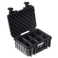 Walizka transportowa B&W outdoor.cases Typ 3000 RPD czarna z przegrodami