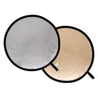 Blenda okrągła Lastolite słoneczno-srebrna 120cm LL LR4836