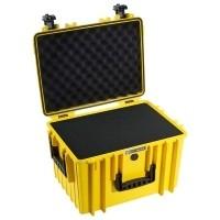 Walizka transportowa B&W outdoor.cases Typ 5500 SI z gąbką Żółta