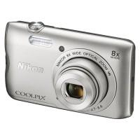 Aparat cyfrowy Nikon Coolpix A300 srebrny