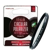Filtr polaryzacyjny Marumi Fit + Slim Circular PL 55mm