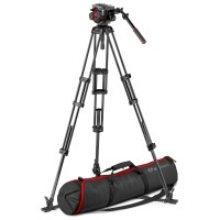 Statyw Manfrotto MVK504TWINGC Carbon z głowicą Manfrotto 504HD