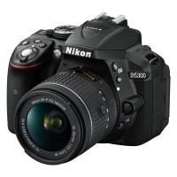 Nikon D5300 Czarny + obiektyw Nikkor AF-P 18-55mm VR